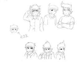 Eddsworld in my drawing by maroro5314