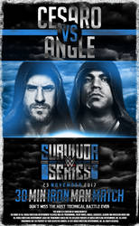 Cesaro vs Angle - HardcoreArtist by HardcoreArtistGFX