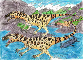 The First Killer Dinosaur by WDGHK