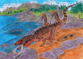 Mysterysaur : Betasuchus by WDGHK