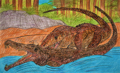 Fishing for Pseudo-Crocodiles by WDGHK