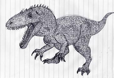 Giganotosaurus by WDGHK