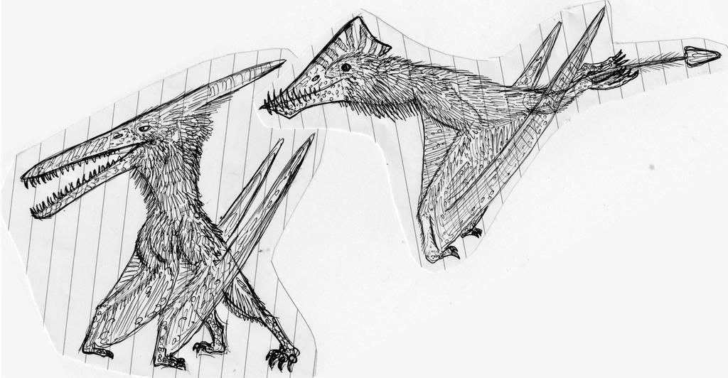 Pterosaur Pics by WDGHK
