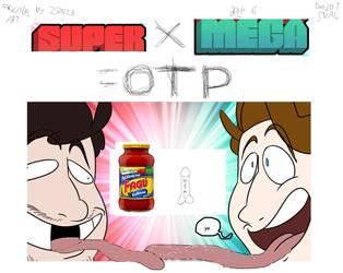 Super/Mega OTP art DO NOT STEL by Zanza-Manza-Anza