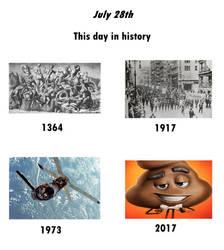 This day in history: July 28 by Zanza-Manza-Anza