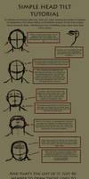 Head tilt tutorial by Argandia