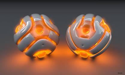 Alien Ball by Absork