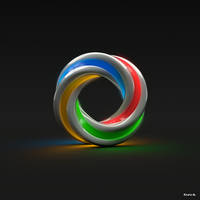 Rainbow Twist by Absork