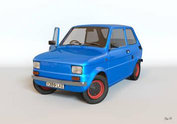 Fiat 126 Render by Absork