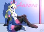 [Art Trade] Aurora by infinitedge2u