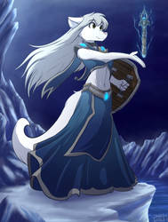 Enchanter Raine by infinitedge2u
