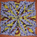 Kenyan quilt 1st block by BellaGBear