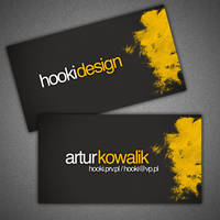 business card - hooki design by hooki