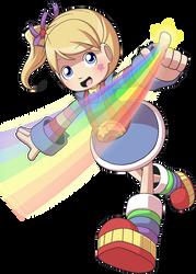 Rainbow Brite by CubeWatermelon
