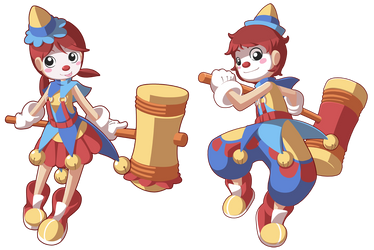 Clown Time by CubeWatermelon