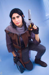 Jyn Erso Cosplay - Rogue One: A Story of Star Wars by YerabiHyuga
