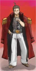 One Piece - Capt Ligen by loveshy