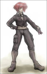 Sgt Sophia Glass by loveshy