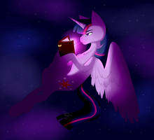 late night reading by TwigPony