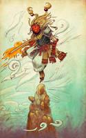 Demon Samurai by Dajikun