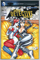 Harley Quinn Catwoman - Batman New 52 Variant by HM1art