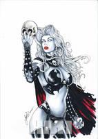 Lady Death by HM1art