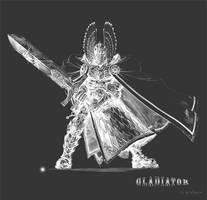 The Gladiator by lglsdragon