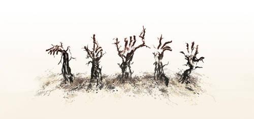 Trees by banyah87