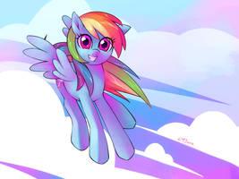 Rainbow Dash by KatiraMoon