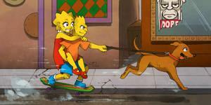 The Simpsons by KatiraMoon