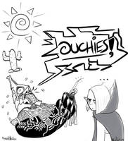 OUCHIES! by Angler-Shark