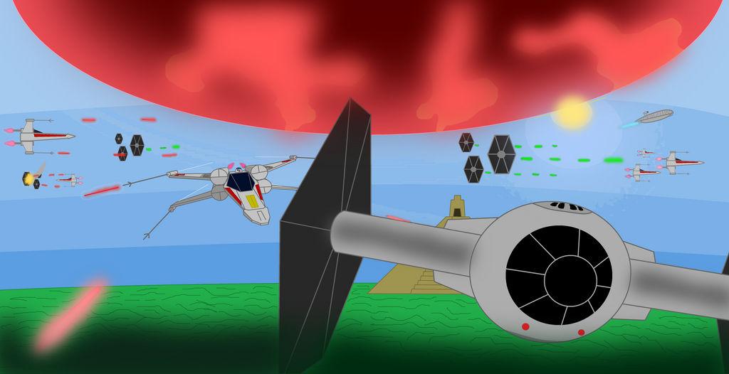 Evacuation of Yavin IV (Remastered) by WyattStoneNCC96230A