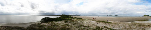 Ilha do Mel - Panorama by farbenleere