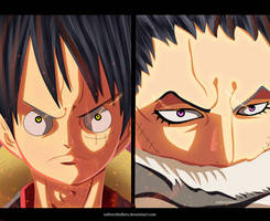 Luffy VS Katakuri by Mad-AK