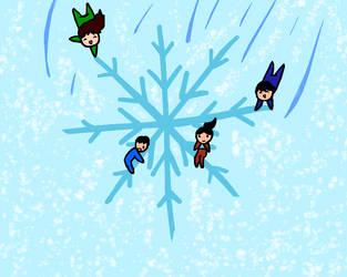 Snowflake Riding by slim58