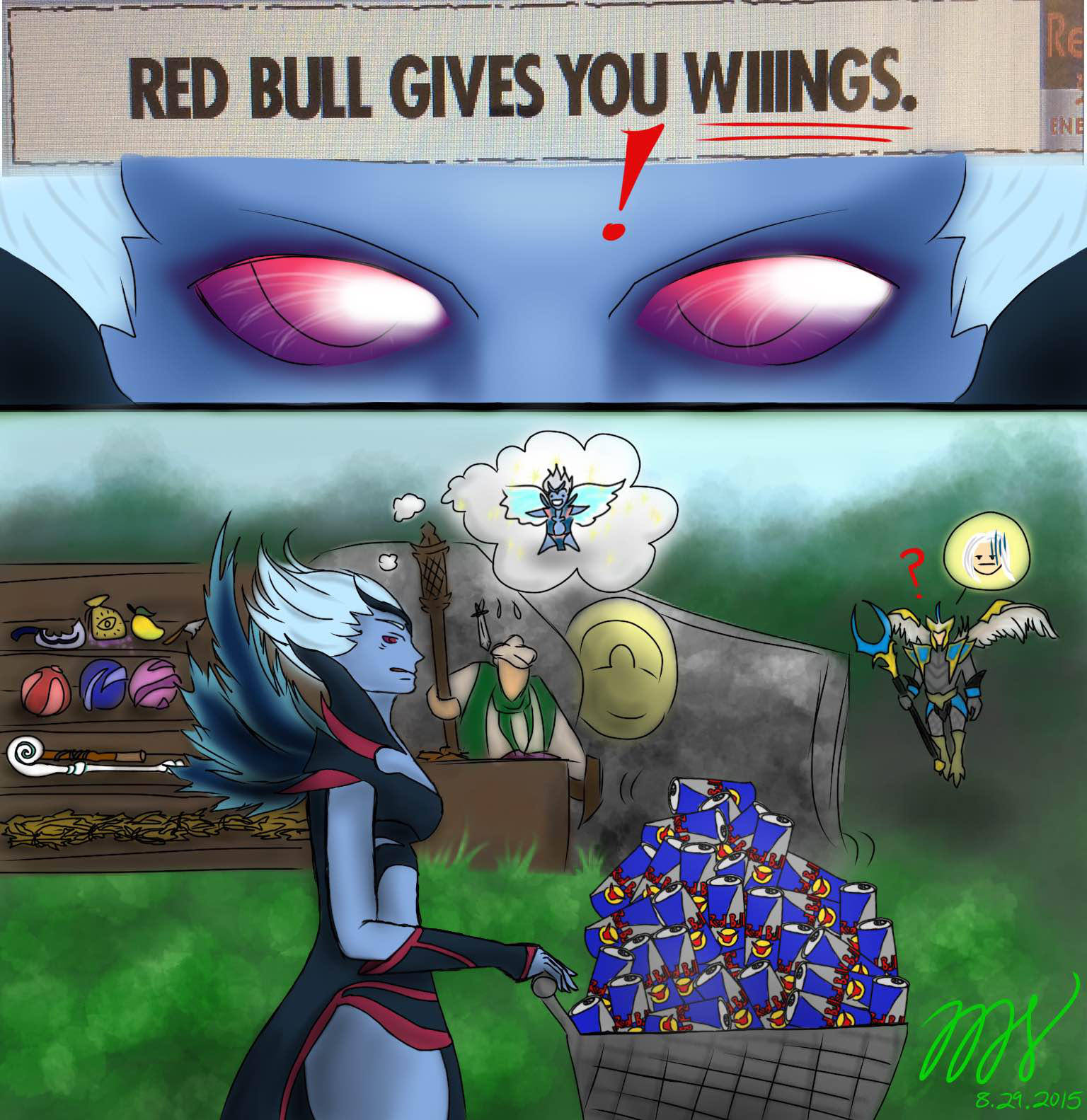 Red Bull Gives You WIIINGS. by slim58