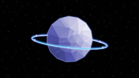 Purple Planet by ElizabethCute1998