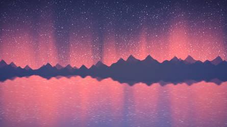 Fiery aurora by ElizabethCute1998