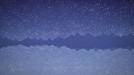 Starry sky by ElizabethCute1998