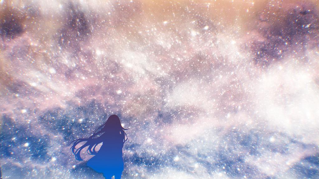 Galaxy before my eyes by ElizabethCute1998