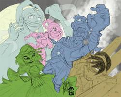 Sokka's nightmare by TheArtrix