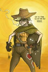Clint Applewood by TheArtrix