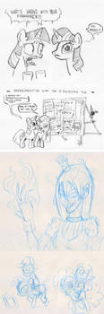Dutch brony meet #7 sketches by TheArtrix