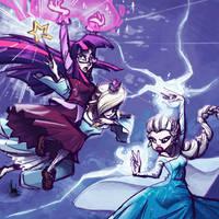 Princess Battle Royale by TheArtrix