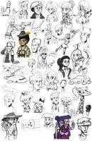 Sketch dump #24 by TheArtrix