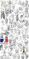 Sketch dump #27 by TheArtrix