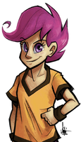 Scootaloo by TheArtrix
