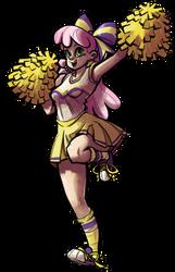 Cheerleader Cheerilee by TheArtrix