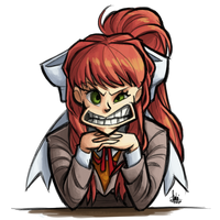 Just Monika by TheArtrix