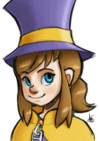 Hat Kid by TheArtrix